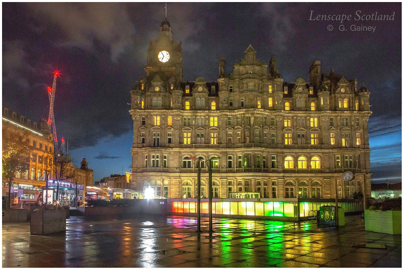 Balmoral Hotel, early morning