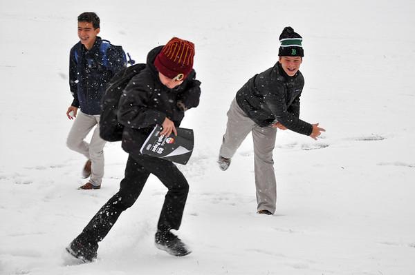 Morning Break Snow Fun!