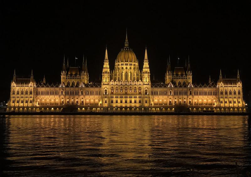 Le Parlement de Budapest, Hongrie