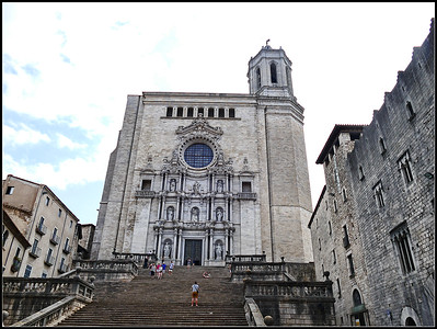 Girona (Catalonia). The Churchs