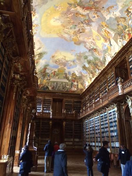 Strahov Monastery Library, Prague - Rand Mirante '70