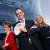 At the launch of the 'Network Your Way to Winning Business Growth' seminar are, l-r, Professional Success Coach and Trainer, Trudy Arthurs, Willie Devlin, Business Development Manager, Ards Business Centre, and Nicki Bury, Haybury Marketing. 06W16N113