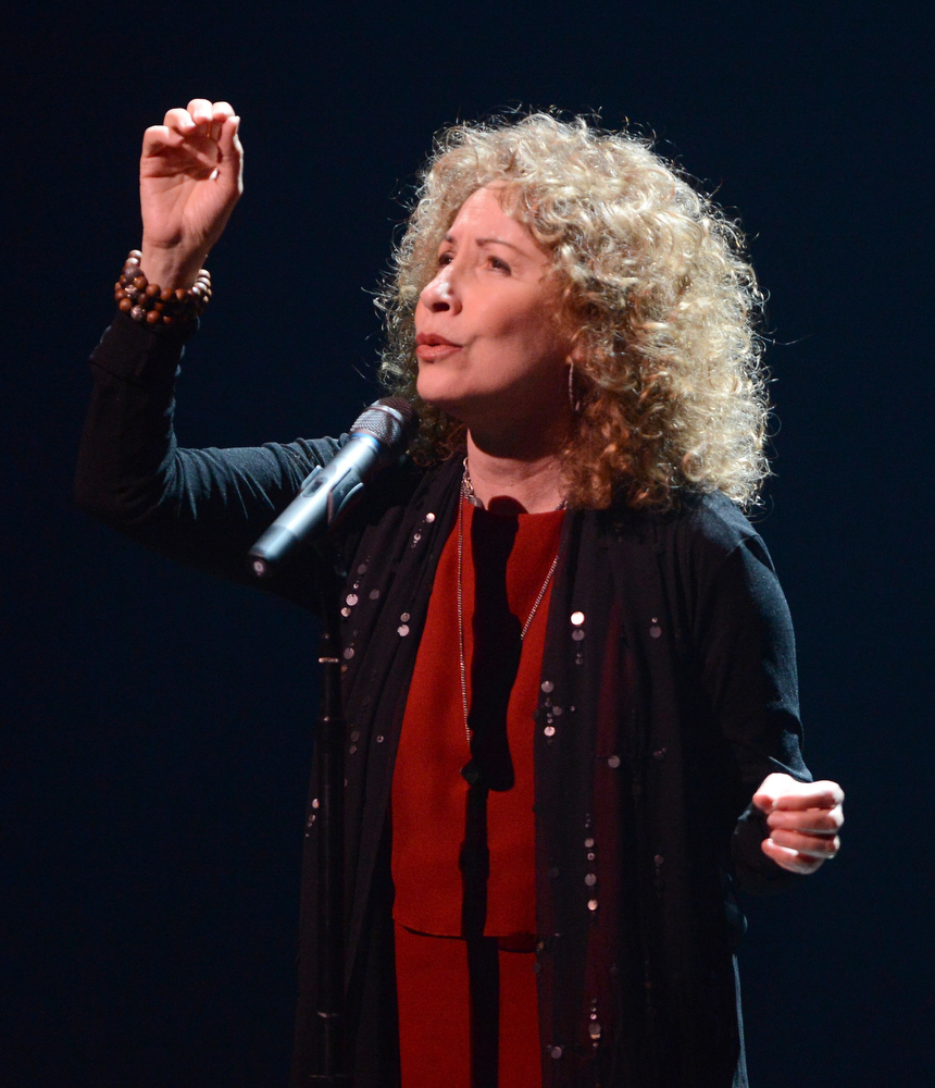. Singer Lani Hall attends a celebration of Carole King and her music to benefit Paul Newman\'s The Painted Turtle Camp at the Dolby Theatre on December 4, 2012 in Hollywood, California.  (Photo by Michael Buckner/Getty Images for The Painted Turtle Camp)