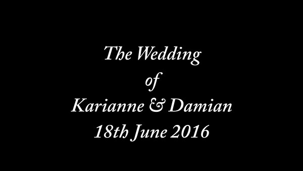 Karianne & Damian wedding video