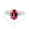 2.17ct Diamond & Spinel 3-Stone Ring 0