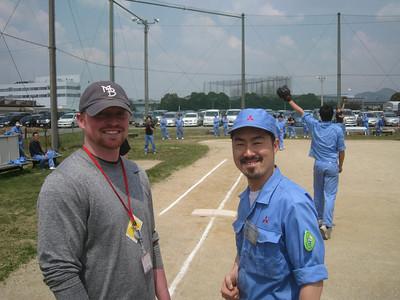 Nagoya Japan, Baseball on April 19