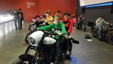 8th Grd Trip to Harley-Davidson Museum & Petit December 2016
