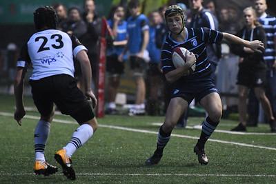 2018 08 22 - Blues North U16s 31 v Ospreys est U16s 12