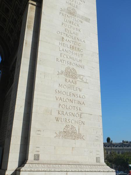Arc de Triomphe, Paris, France - 2016