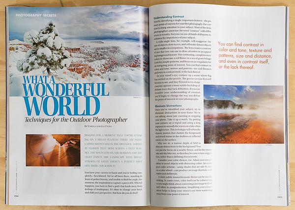 Photoshop User Magazine - Article by Varina and Jay Patel