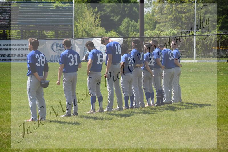 -2017 USCAA Baseball St Joseph's v Cleary