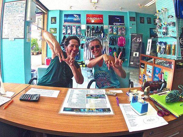 Scuba Diving Ao Nang, Thailand