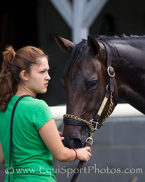 Mahna works at Churchill Downs 6.16.2012
