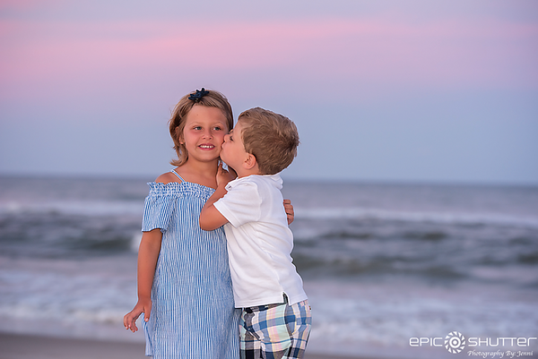 Salvo, North Carolina, Family Portraits, Family Vacation Photos, Hatteras Island, Epic Shutter Photography