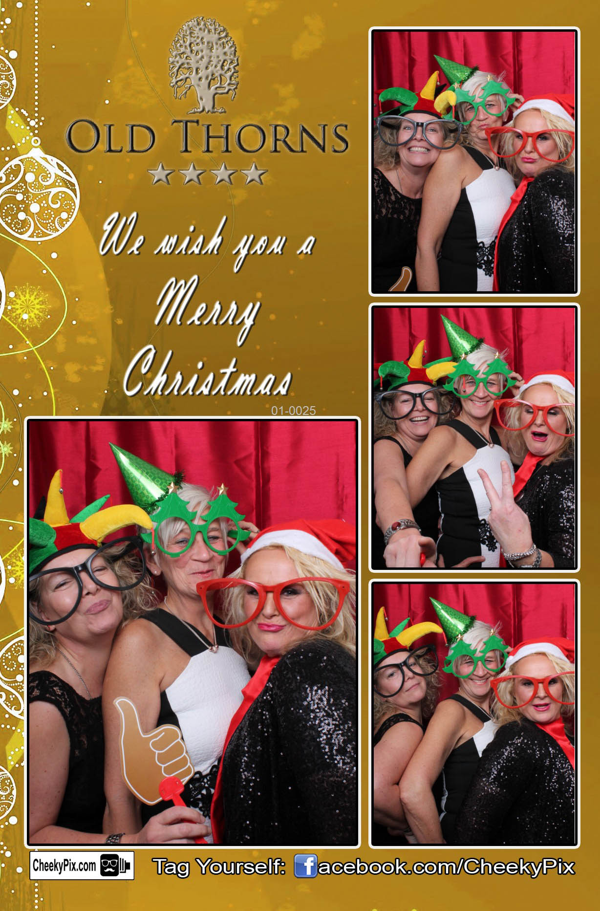Christmas Party photobooth hire