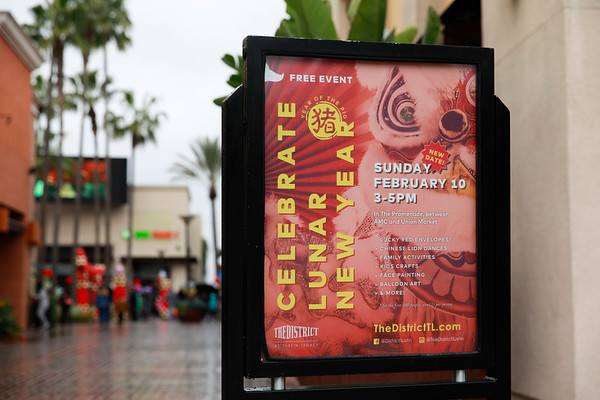 The District at Tustin Legacy - Lunar New Year - Feb 10, 2019