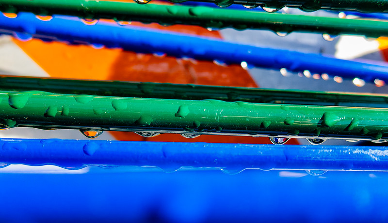 Wet Pipes, Campbell, California, 2010