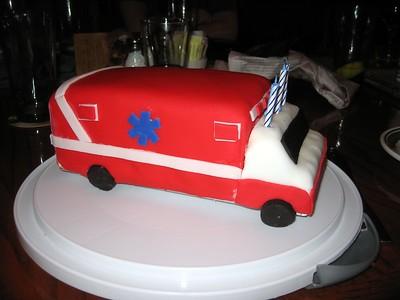 David's Ambulance Cake