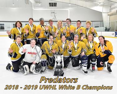 White B Championship - Predators vs Hawks White