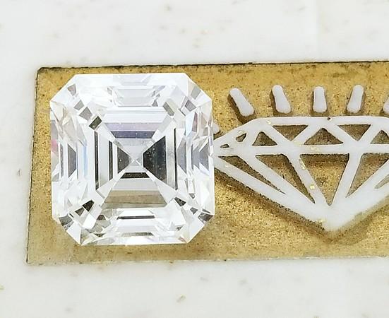 3.91ct Square Emerald Cut Diamond - GIA I w/SBF, VVS1