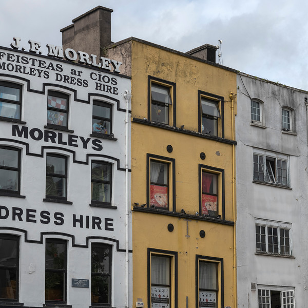 Low angle view of buildings, City of Cork, County Cork, Ireland