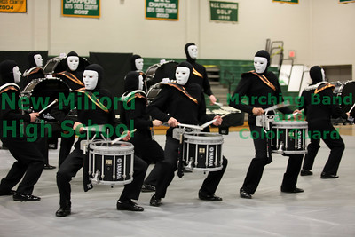 NMHS Winter Guard and Percussion Home Show, February 19, 2011 - Percussion