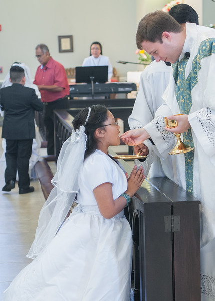 Hispanic First Communion 051416