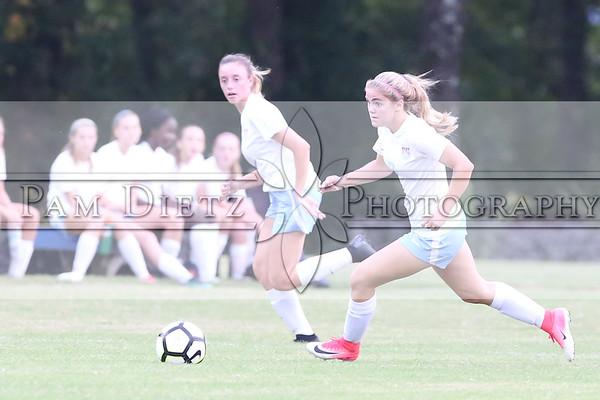 USJ v Bartlett girls soccer 10-1-18