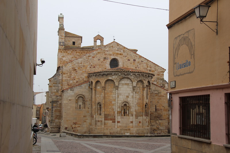 A Romanesque church in Zamora, Spain.