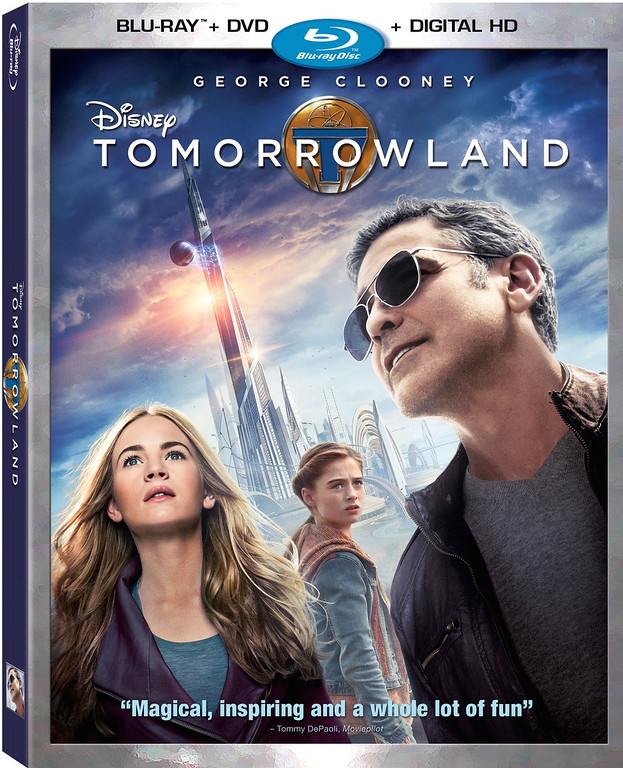 Feature-loaded TOMORROWLAND home release just a dream away…