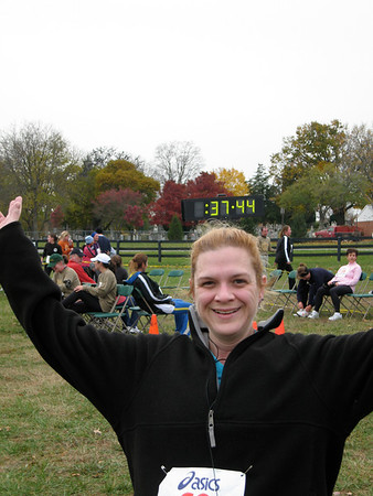 5th Freeze Your Gizzard 5K (November, 2007)