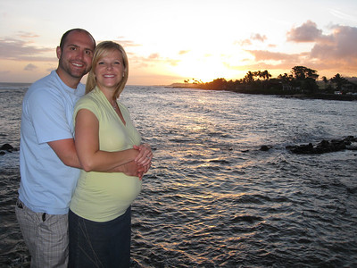 Babymoon Kauai April 2009