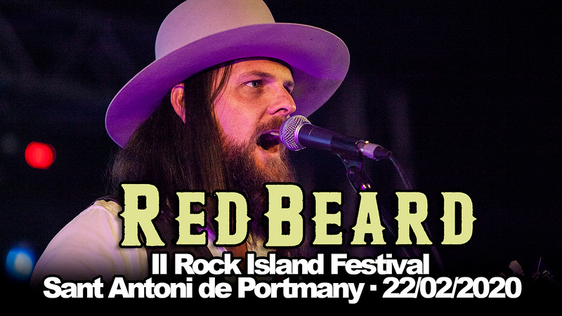RED BEARD · II ROCK ISLAND FESTIVAL · 22/02/2020