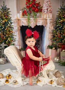 Alessandra's 1st Christmas!
