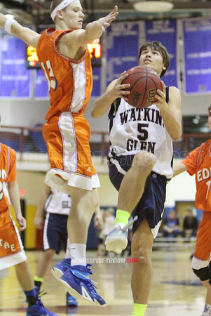 Watkins Glen Basketball 2-6-15