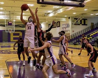 Boys Varsity Basketball v Madison 12/23/20