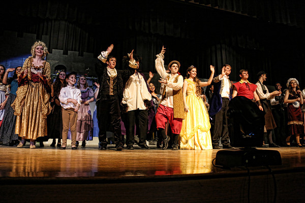 """Beauty and the Beast"" Gray's Creek High School Production"