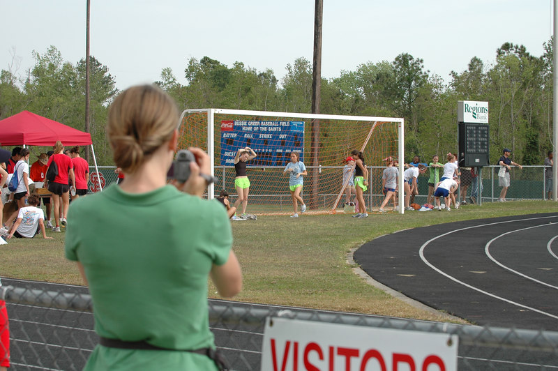 Of course I was going to get a shot of Heather getting some vid.