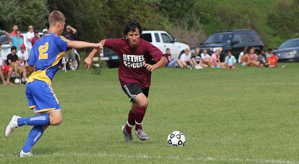 Varsity Boys Soccer vs Seymour - Scrimage - 09/05/2011