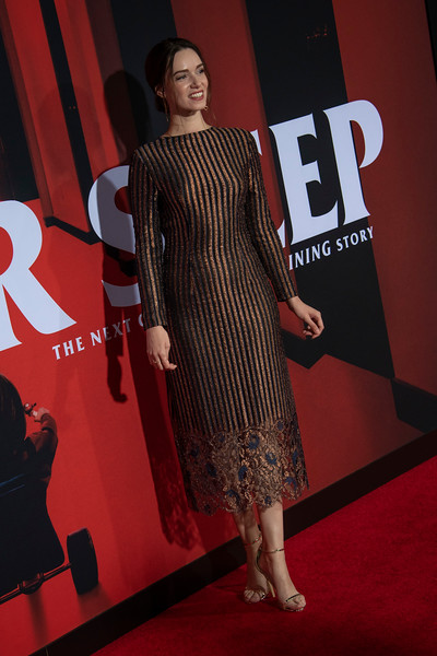 "LOS ANGELES, CALIFORNIA - OCTOBER 29: Alex Essoe attends the premiere of Warner Bros Pictures' ""Doctor Sleep"" at Westwood Regency Theater on Tuesday October 29, 2019 in Los Angeles, California. (Photo by Tom Sorensen/Moovieboy Pictures,)"
