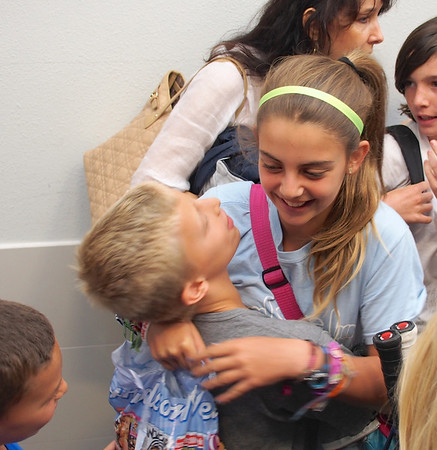 2012-08-12 - Morgan comes home from Camp Laurel