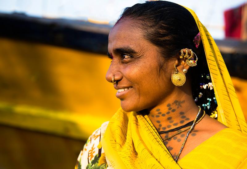 Veera portrait Koli women Diu.jpg