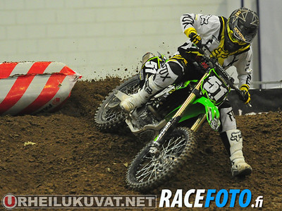 2013,1 Supercross SM Messuhalli per