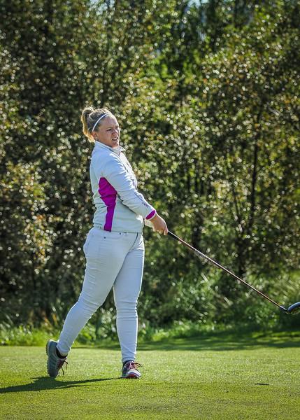GR, Halla Björk Ragnarsdóttir Íslandsmót í golfi 2019 - Grafarholt 2. keppnisdagur Mynd: seth@golf.is