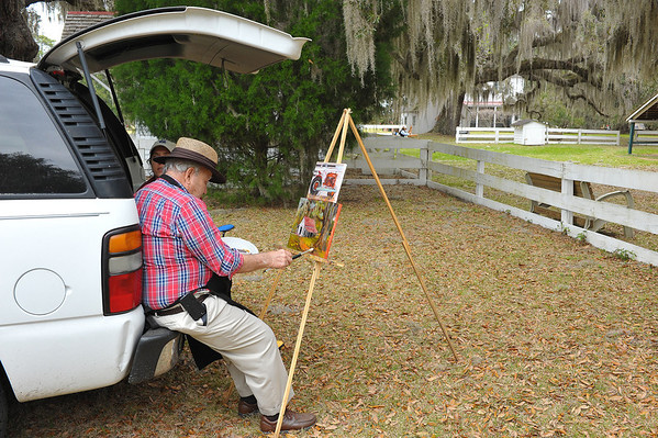 Hofwyl 2nd Annual Plein Air Event Honoring Albert Fendig 2014
