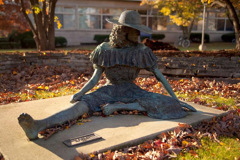Statue on LU Campus