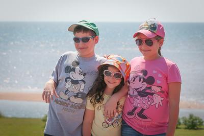 Oron Family Visit to PEI 2012