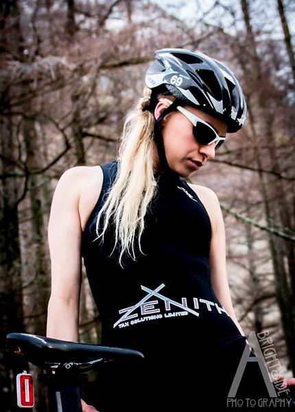 Lucy Tri athlete photoshoot