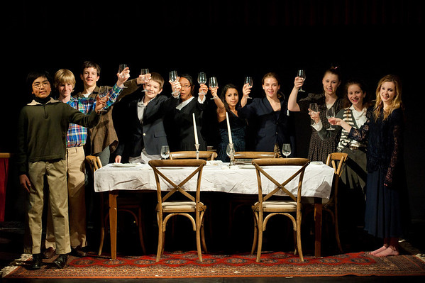 """8th Grade Play """"The Dining Room"""""""