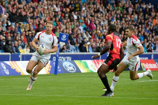 Canada vs. Uganda - 20th Commonwealth Games - Rugby - July 27, 2014